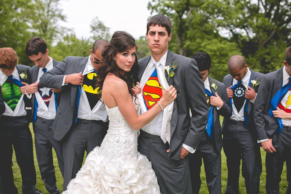 Casamento de super heróis